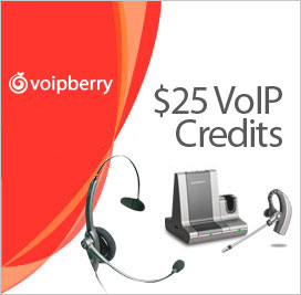 Credit $25 to your VoIP Account